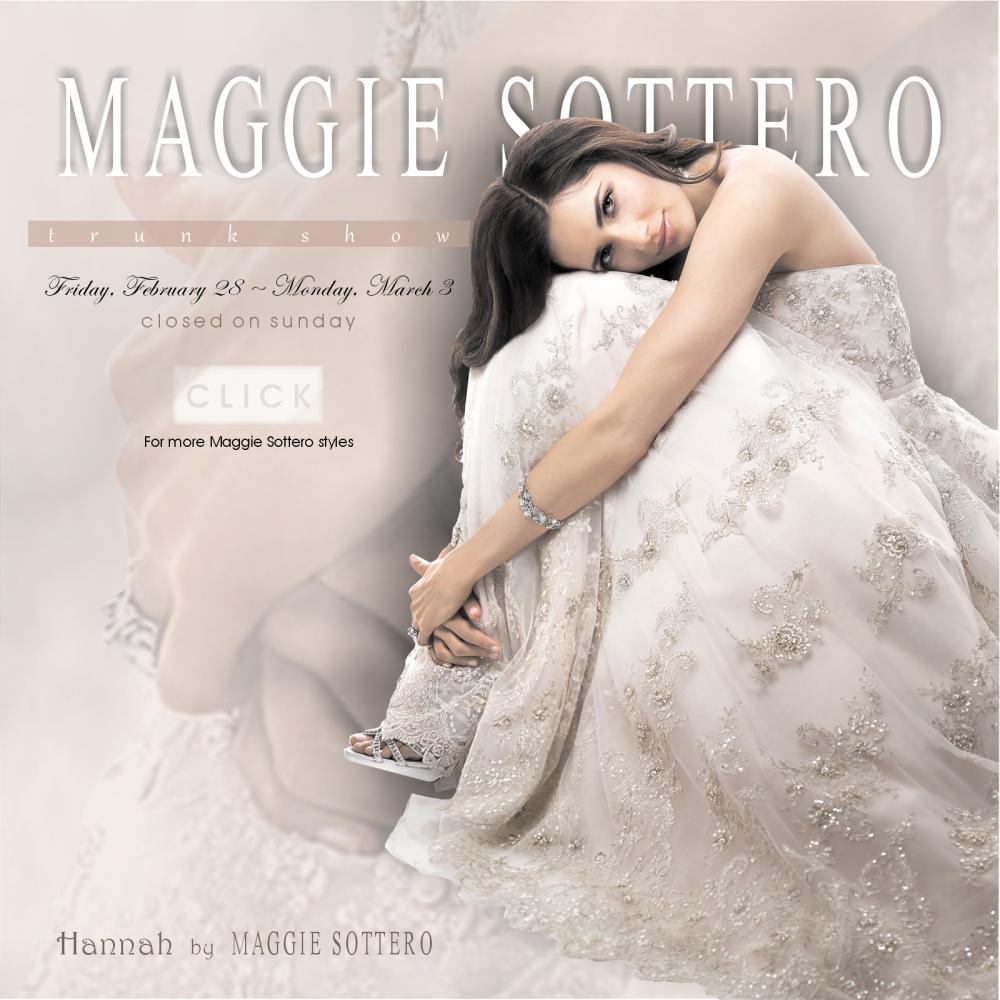 click for more maggie sottero styles being showcased